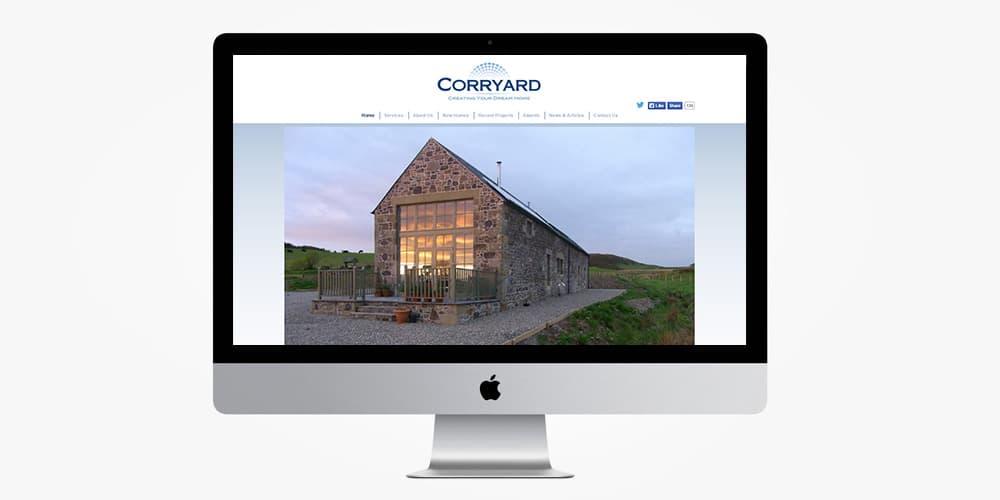 Corryard Website by Mind's I graphic & Web Design