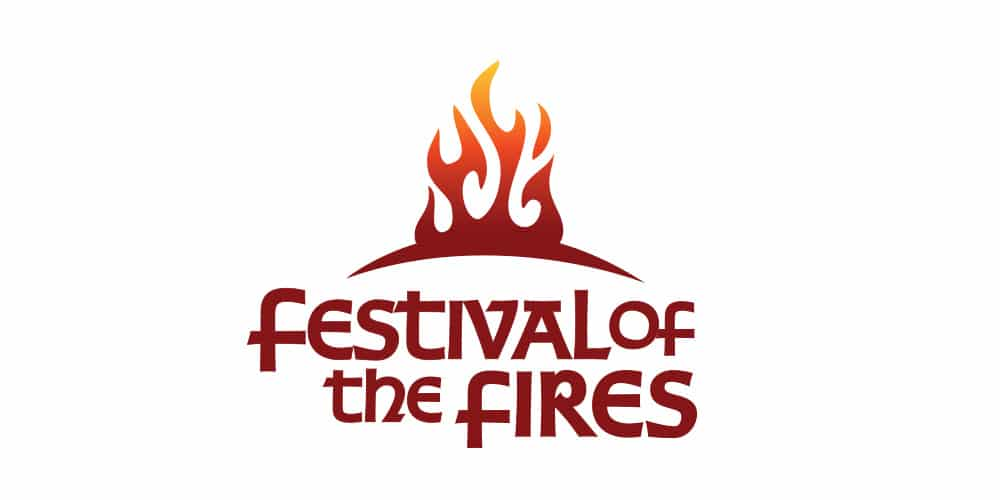 Festival Of The Fires Logo Designed by Mind's I Graphic & Web Design
