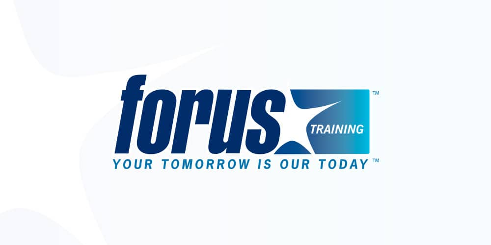 Forus Logo by Mind's I graphic Design