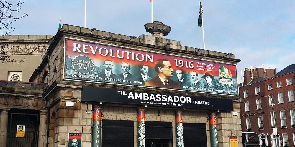 Revolution 1916 Ambassador Banner by Mind's I Graphic Design